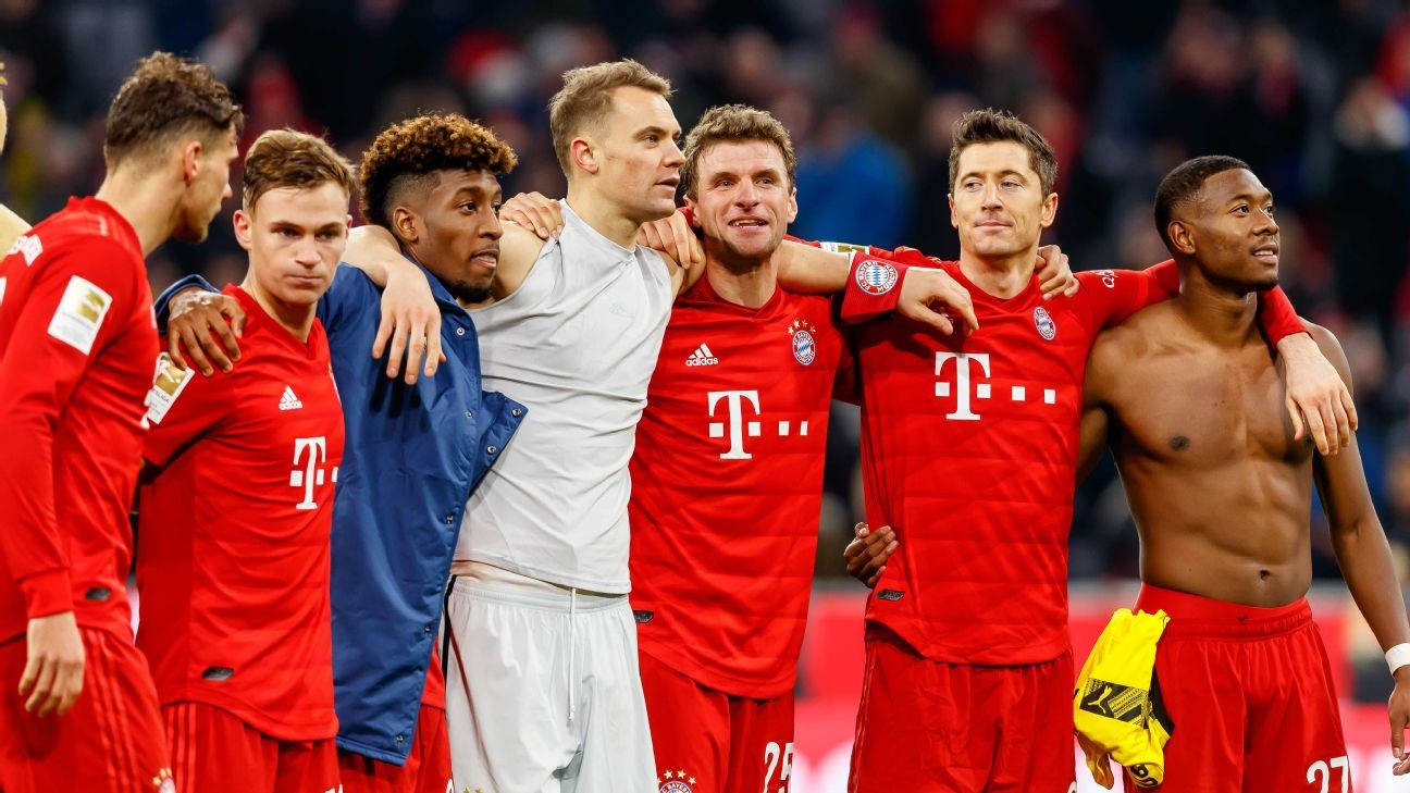 Bayern Munich and Real Madrid showing how big-club power can keep you on top