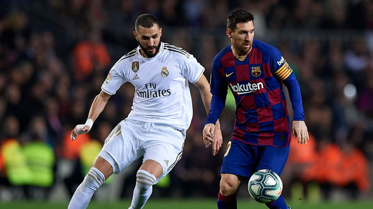 Barcelona, Real Madrid working to stage Clasico in U.S. - sources
