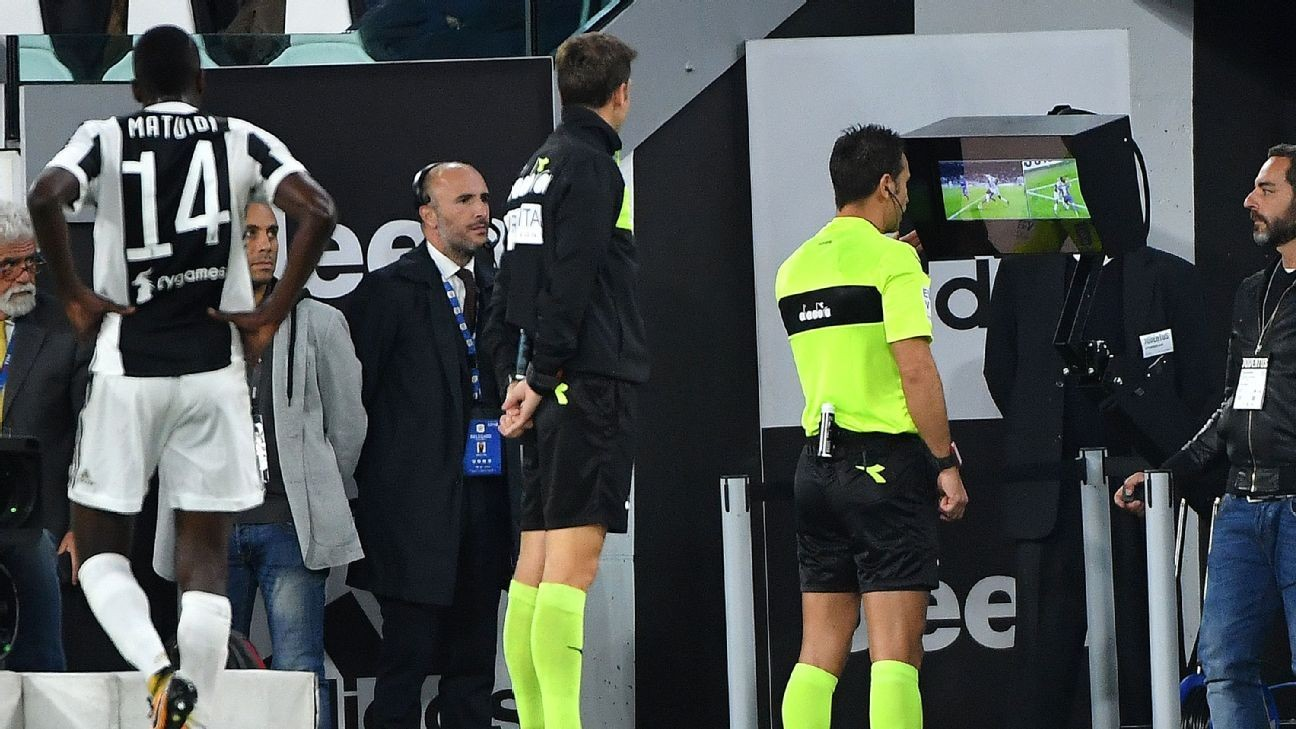 Italy's FA asks FIFA for VAR 'challenges' in Serie A matches