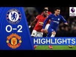 Chelsea 0-2 Manchester United | Premier League Highlights