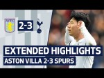 EXTENDED HIGHLIGHTS | ASTON VILLA 2-3 SPURS | Son scores in the final minute!