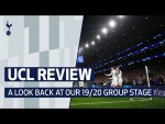 UEFA CHAMPIONS LEAGUE | TOTTENHAM HOTSPUR'S GROUP STAGE REVIEW