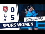 HIGHLIGHTS | COVENTRY UNITED 0-5 SPURS WOMEN | FA CUP