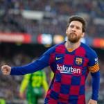 Messi hits four goals as Barca hammer Eibar 5-0