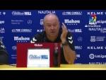 Rueda de prensa de Pepe Mel tras el AD Alcorcón vs UD Las Palmas (1-1)