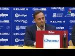 Rueda de prensa de  Fran Fernández tras el AD Alcorcón vs UD Las Palmas (1-1)