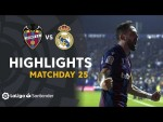 Highlights Levante UD vs Real Madrid (1-0)
