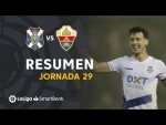 Resumen de CD Tenerife vs Elche CF (1-0)
