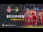 Resumen de Girona FC vs SD Ponferradina (2-0)