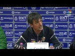Rueda de prensa de  Pacheta tras el CD Tenerife vs Elche CF (1-0)