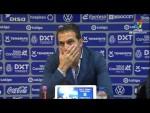 Rueda de prensa de  Rubén Baraja tras el CD Tenerife vs Elche CF (1-0)