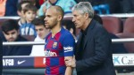 Quique Setien Hails 'Outstanding' Martin Braithwaite Debut & Makes Lionel Messi Admission