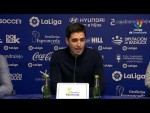 Rueda de prensa de Andoni Iraola tras el Extremadura UD vs CD Mirandés (3-2)