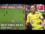 Top 10 Best Free Kicks of The Decade 2010-2019 - Aubameyang, Alaba, Calhanoglu & More