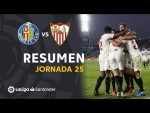 Resumen de Getafe CF vs Sevilla FC (0-3)