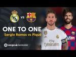 ElClásico: Sergio Ramos vs Piqué