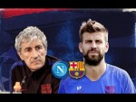 LIVE / DIRECTO: Press conference with Setién and Piqué + training session pre-Napoli