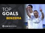 TOP 5 GOALS Karim Benzema ElClásico