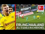 Haaland's Identical Goal vs. Bremen - Now 9 Goals in 6 Matches