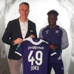 Jeremy Doku extends Anderlecht contract till 2022