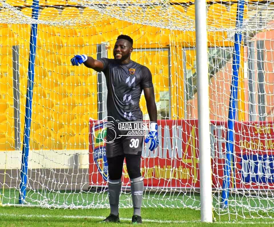 Hearts of Oak goalkeeper Richard Atta set to receive Black Stars call up
