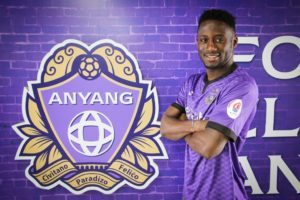 Transfer: Ghana attacker Maxwell Acosty joins Korean side Anyang FC