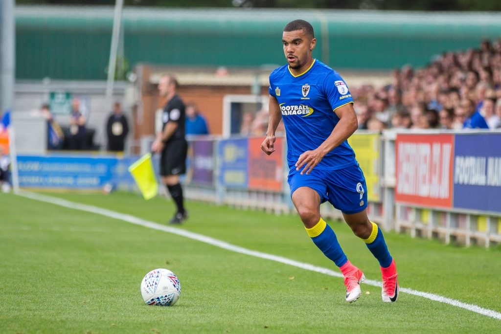AFC Wimbledon striker Kwesi Appiah close to recovering from injury
