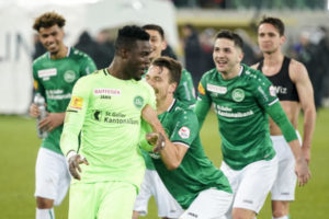 Ati-Zigi excels for St. Gallen in draw against Young Boys