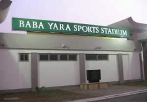 Baba Yara Stadium closed down as renovation begins