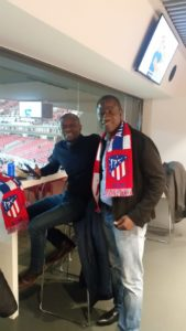 CK Akonnor watches Partey and his Atletico Madrid side beat Liverpool
