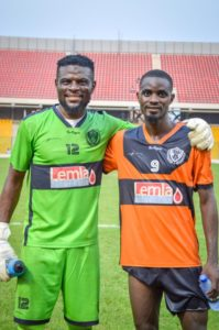 Legon Cities goalie Fatau Dauda eyes victory for his side against Great Olympics on Friday