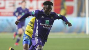 Anderlecht coach wants Jeremy Doku to continue working hard to improve his game