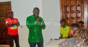 'If you know you can't play for Kotoko again, tell me' – Dr. Kwame Kyei asks players