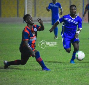 2019/20 Ghana Premier League Matchday 10 Report: Legon Cities FC 1-1 Great Olympics - Capital derby ends in a stalemate