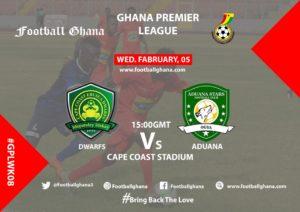 Ghana Premier League Matchday 8 Preview: Ebusua Dwarfs v Aduana