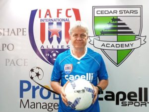 Inter Allies coach Henrik Peters bemoans missed chances against Legon Cities