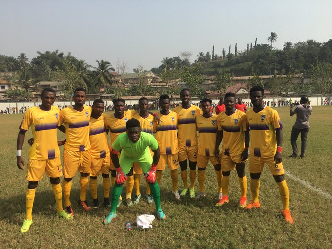 Medeama issue an unqualified apology to fans after Elmina Sharks defeat