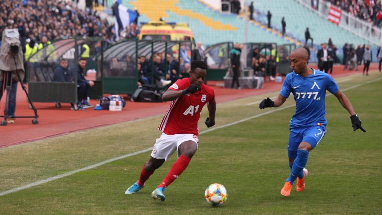 Edwin Gyasi features in CSKA Sofia away win against Vitosha Bistritsa