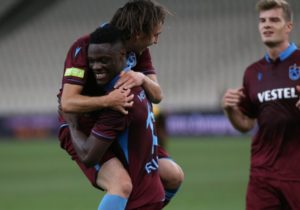 VIDEO: Watch Caleb Ekuban's equalizer in Trabzonspor's mauling of Rizespor