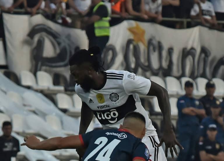 Adebayor marks Olimpia debut in draw against Cerro Porteno