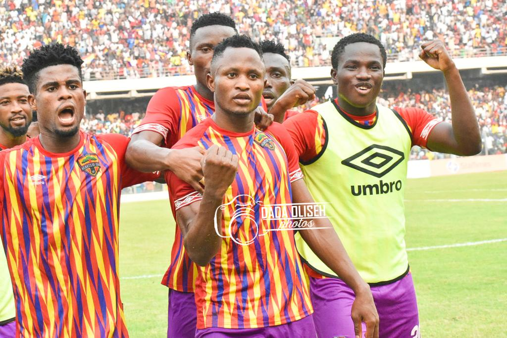 MTN FA CUP: Hearts of Oak sail through to Round of 32 after beating Danbort FC 2-0