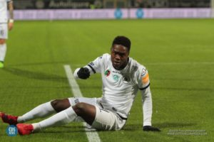 Ghanaian forward Gyasi returns to the Spezia team after serving suspension