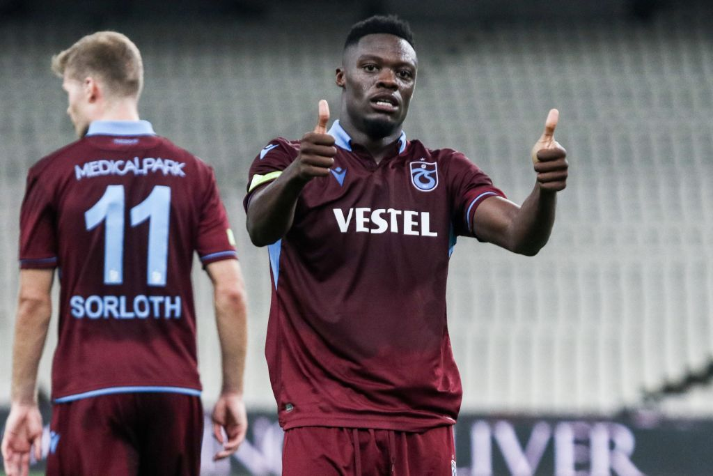 Ghanaian striker Caleb Ekuban registers assist as Trabzonspor draw with Besiktas