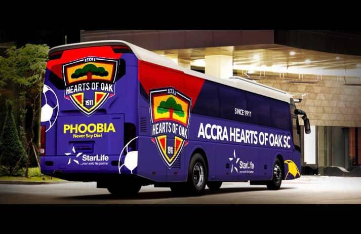 Beautifully-designed Hearts of Oak new bus hit online