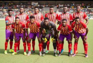 Coach Nii Odoom names Hearts of Oak's starting eleven for Bechem Utd clash