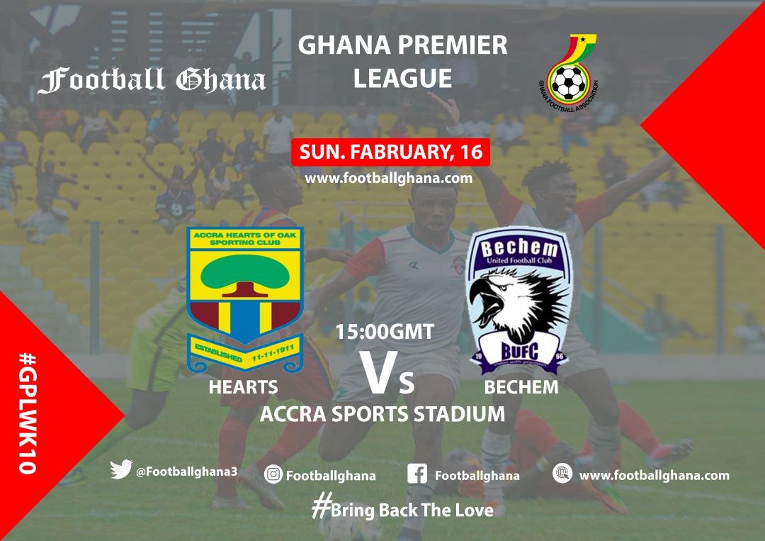 2019/20 Ghana Premier League Matchday 10 Preview: Hearts of Oak v Bechem United