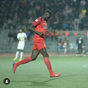 Ghana defender Joseph Adjei played 90mins for Aizawl in India I-League