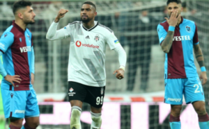 VIDEO: Watch KP Boateng's equalizer for Besiktas against Trabzonspor
