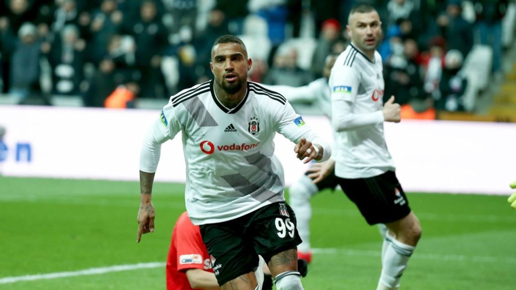 Kelvin Prince Boateng allays injury fears after leaving Besiktas draw against Trabzonspor