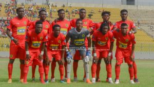 Watch: Kotoko supporters blast players after losing to Asokwa Deportivo in MTN FA Cup